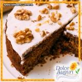 encomenda de bolo de nozes sem açúcar Aricanduva