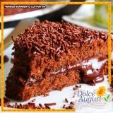 encomenda de bolo de chocolate sem açúcar