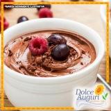 encomenda de mousse de chocolate sem açúcar Mooca