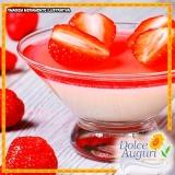 encomenda de mousse de morango zero açúcar São Domingos