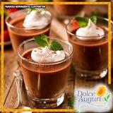 mousse de chocolate sem açúcar Rio Claro