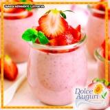 mousse de morango diet