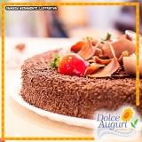 orçamento para encomenda de bolo de brigadeiro sem açúcar Jaboticabal