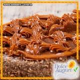 orçamento para encomenda de bolo de doce de leite sem açúcar Rio Claro